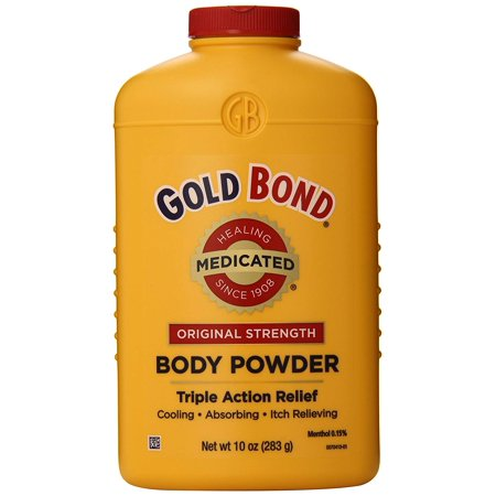 Gold Bond Medicated Powder, 10 oz, Original Strength