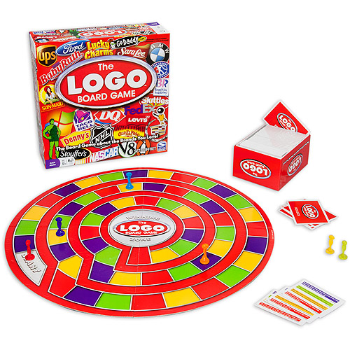 Spin Master Games Logo Board Game