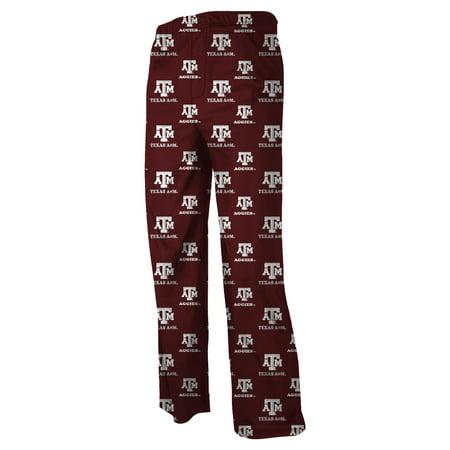 Texas A&M Aggies Youth NCAA Printed Logo Pajama Pants Aggies Ncaa Logo Card