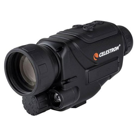 Celestron NV-2 4.5x40mm Night Vision Monocular with Infrared Assist, Still & Video