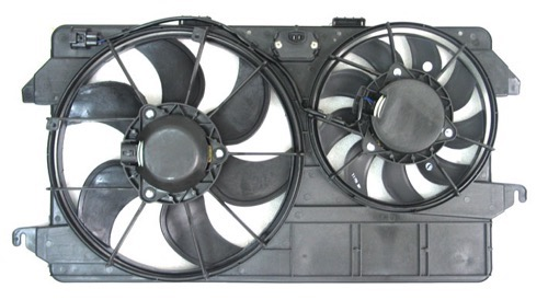 TYC 622370 Replacement Cooling Fan Assembly Compatible with Ford Transit Connect
