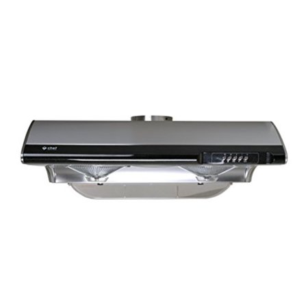 """Glass Under Cabinet Hood - Chef 30"""" C190 Under Cabinet Range Hood 
