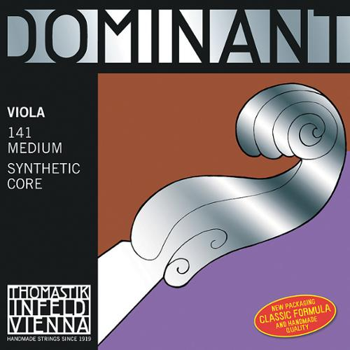 Thomastik-Infeld Dominant Nylon-Core Viola Strings, Medium Gauge, 4/4, Set of 4