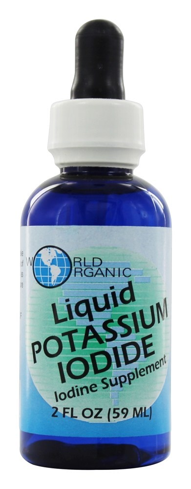 World Organic Liquid Potassium Iodide 2 oz. by World Organics