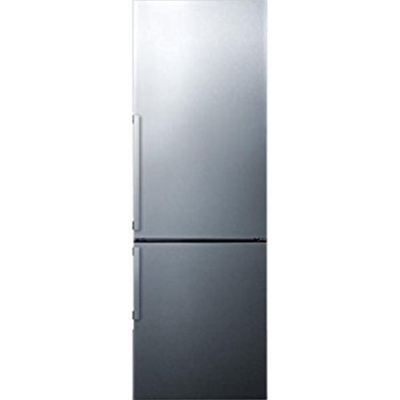 Summit FFBF246SS 24in Wide 11.3 Cu. Ft. Capacity Energy Star Certified Free Standing Refrigerator ()