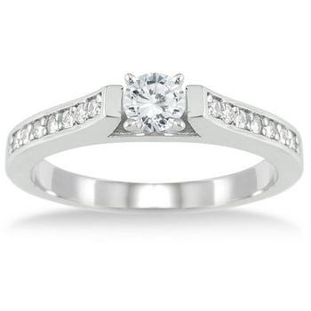 Szul Jewelry 1/2 Carat TW Diamond Ring in 10K White Gold
