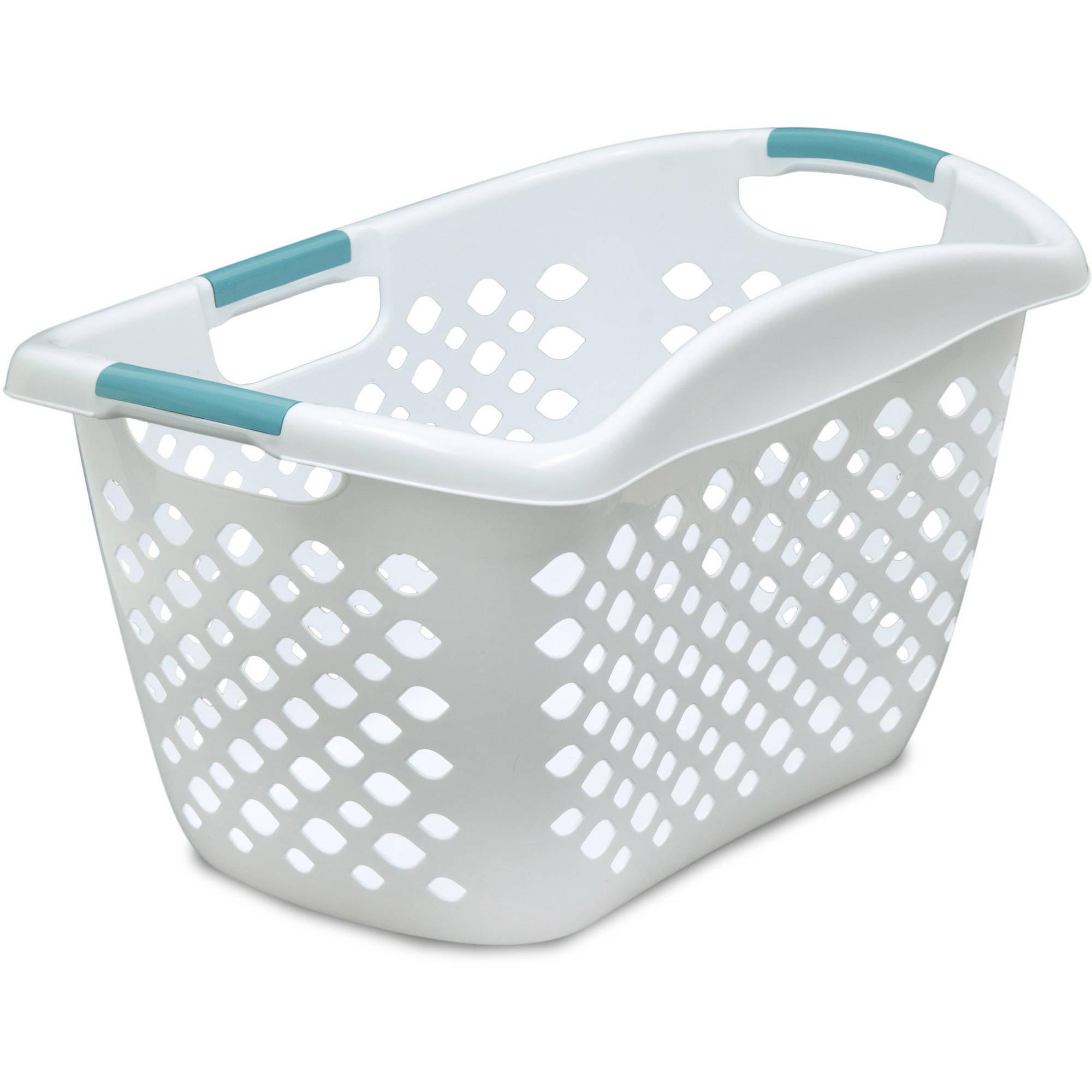 Home Logic 1.8-Bu Large Capacity HIP GRIP Laundry Basket