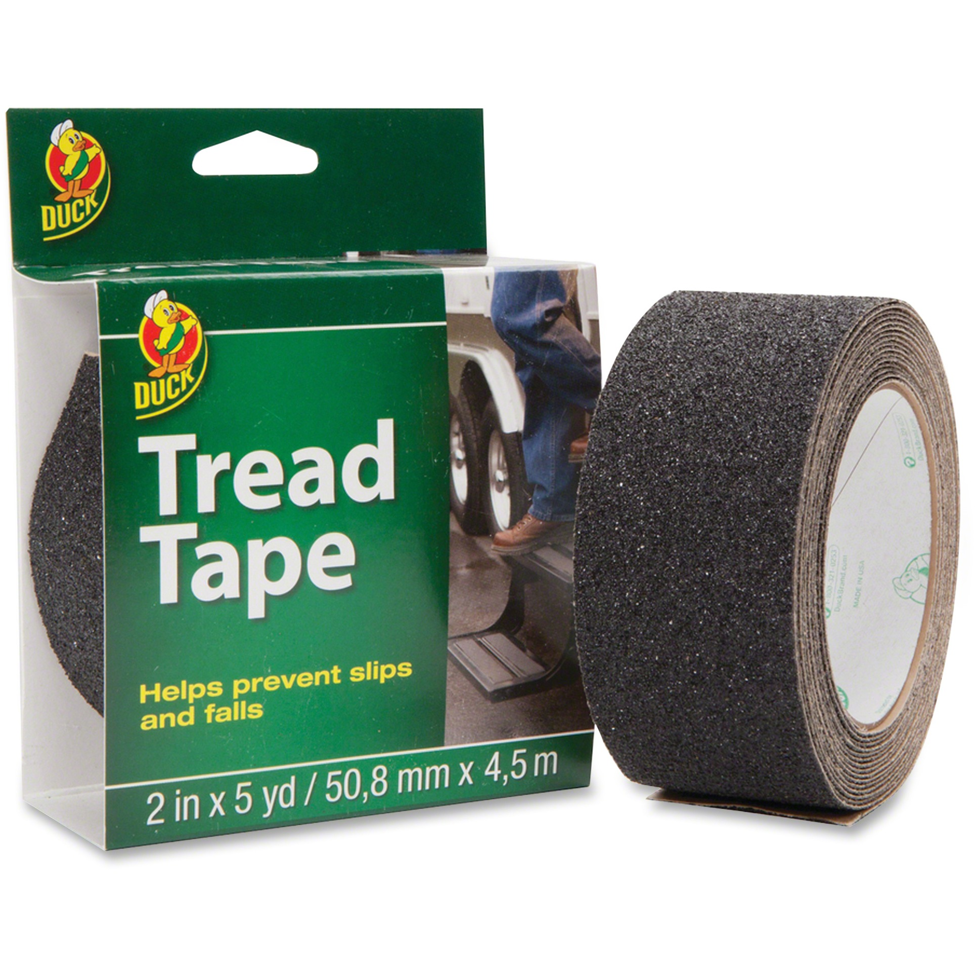Duck Brand Tread Tape, Black, 1 Roll (Quantity)