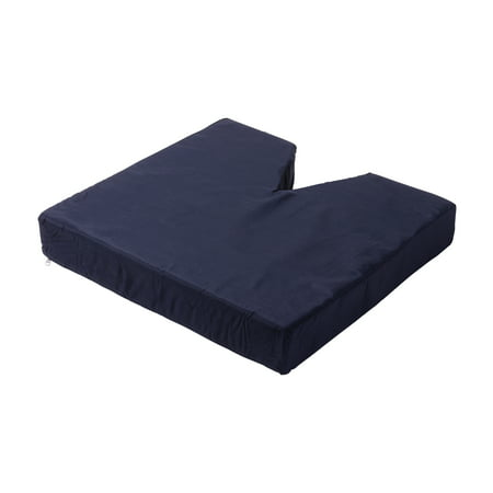 DMI Seat Cushion for Sciatica, Tailbone and Coccyx Pain Relief, Foam Chair Cushion for Sitting, Lumbar Cushion for Back Support, Pillow for Office Chair, Wheelchair, Car, Orthopedic Seat Cushion ()