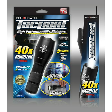 As Seen on TV Bell + Howell Taclight LED Flashlight