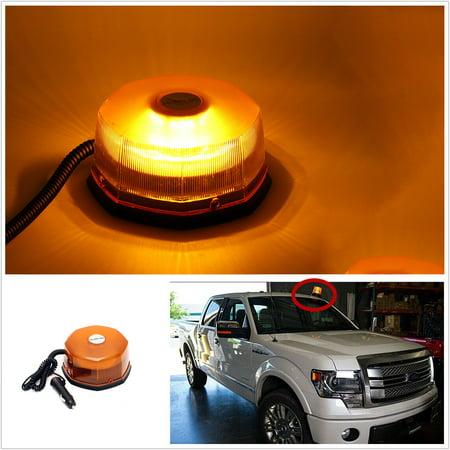 54 LED Car Roof Strobe Revolving Rotating Beacon Roof Top Emergency Breakdown Light Car Warning Light - image 7 of 7