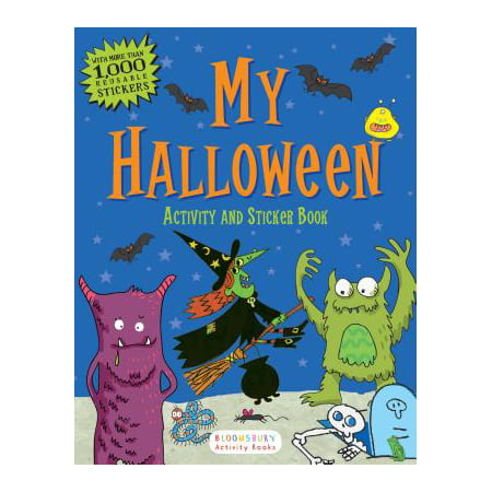 My Halloween Activity and Sticker Book (Halloween Music Activity Sheets)