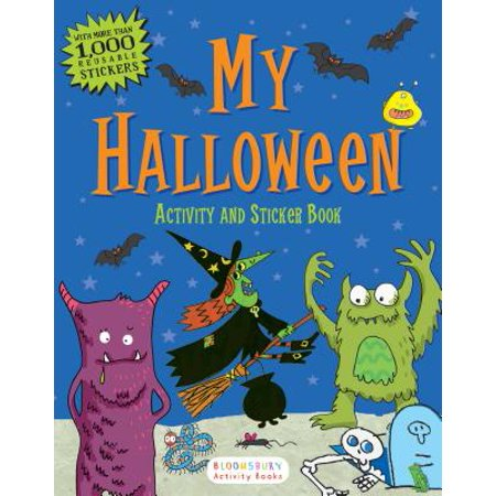My Halloween Activity and Sticker Book](French Halloween Classroom Activities)