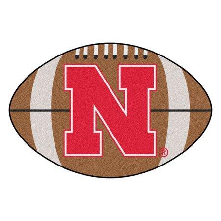 University of Nebraska Football Mat (Nebraska Cornhuskers Grill Mat)