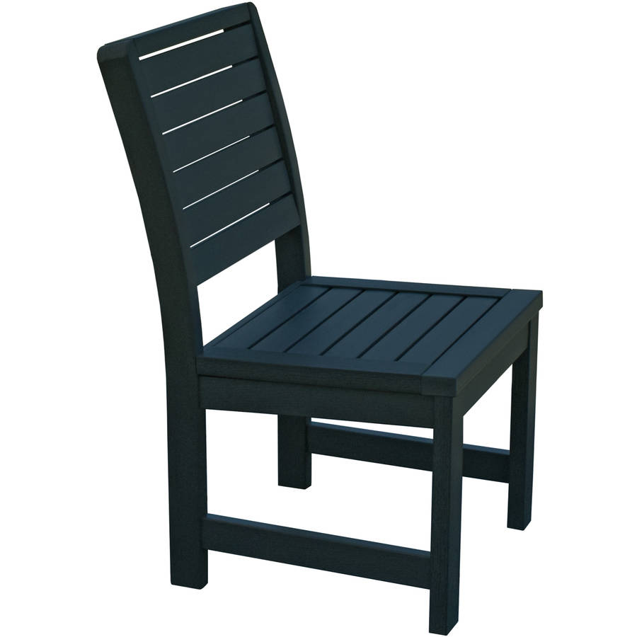 highwood® Eco-Friendly Recycled Plastic Weatherly Side Chair