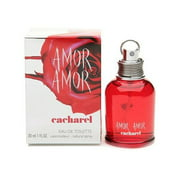 Amor Amor By Cacharel For Women. Eau De Toilette Spray 3.4 Oz.