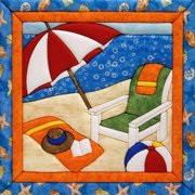 Summertime Quilt Magic Kit-12 Inch X 12 Inch