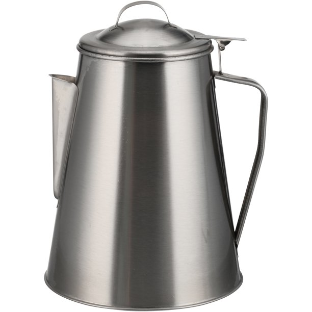 Stainless Steel 8 Cup Coffee Pot