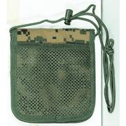 Travel Passport Holder Adjustable Neck Wallet Olive Drab