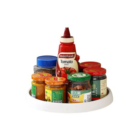 360 Degree Selectable Kitchen Seasoning Tray Multi-Functional Storage Container Rotating Storage Box - image 1 of 4