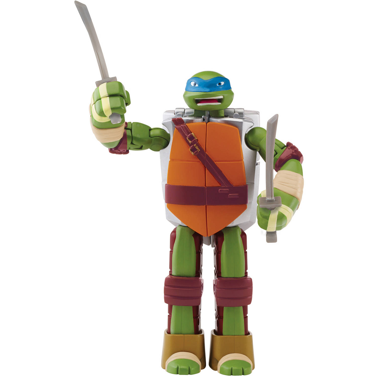 Teenage Mutant Ninja Turtles Leonardo Figure to Weapon