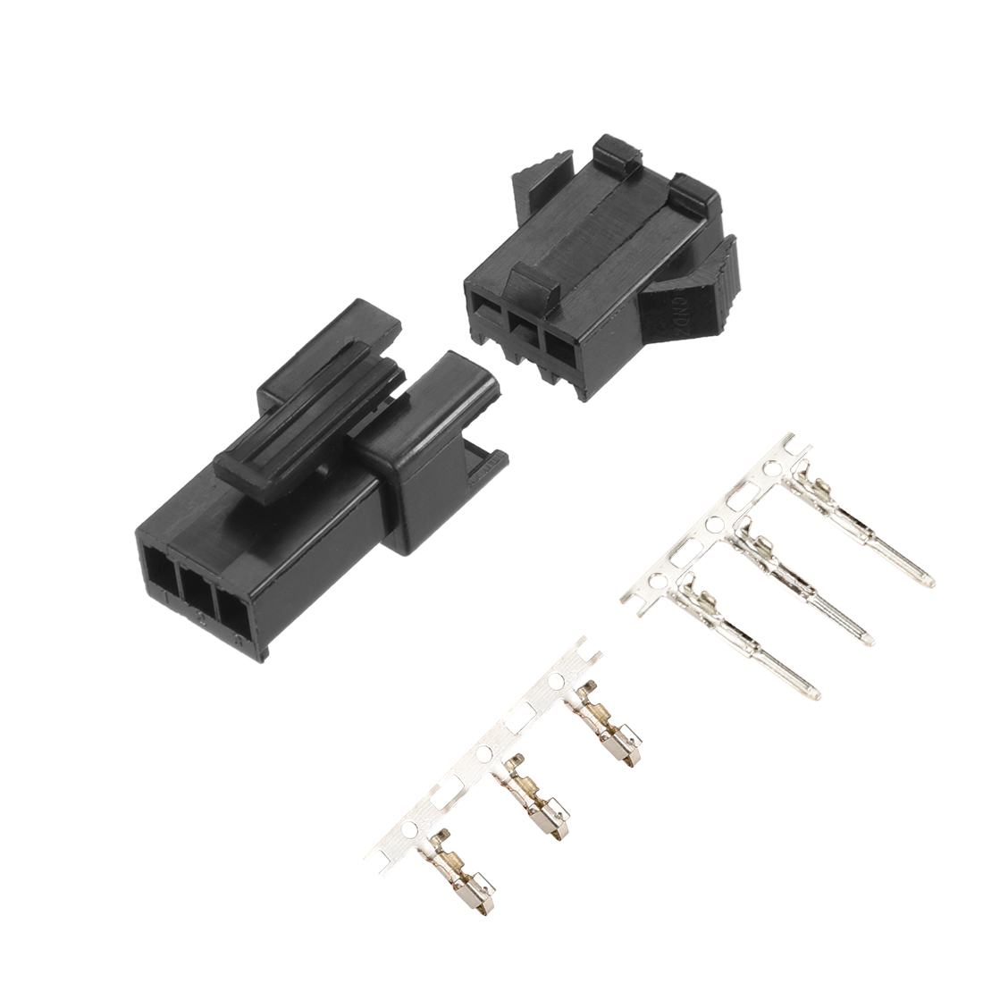 15 Set JST SM 2 Pin Battery LED Power Connector Male Housing+Female+Terminal Pin