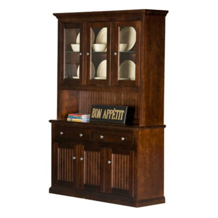 Eagle Furniture 54 in. Customizable Coastal Dining Buffet and Hutch ()