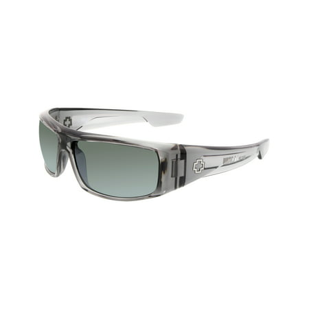 Men's Logan 670939204352 Grey Wrap (Logan Sunglasses Spy Optic)