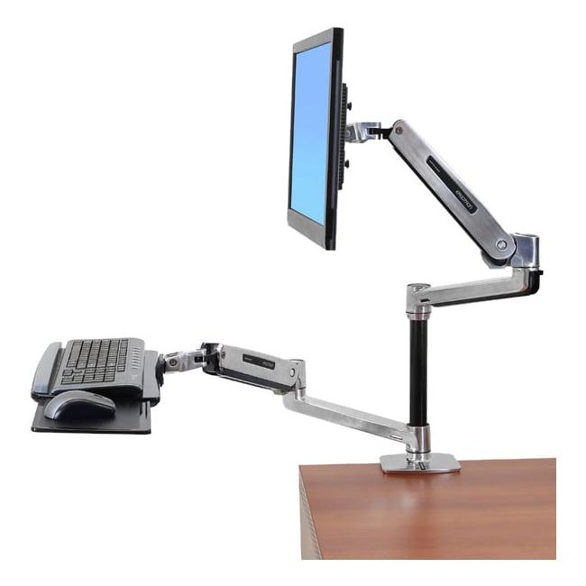 Ergotron WorkFit-LX, Sit-Stand Desk Mount System