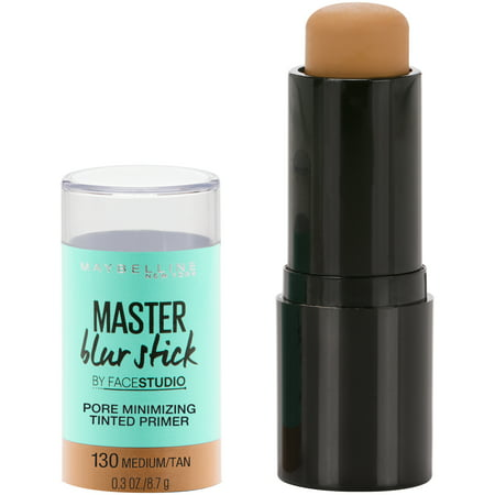 Maybelline Facestudio Master Blur Stick Primer, Medium/Tan