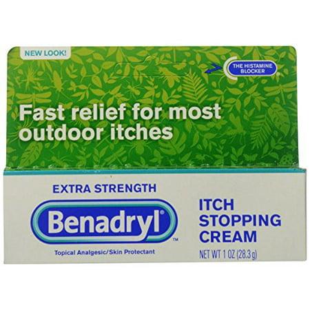6 Pack - Benadryl Extra Strength Anti-Itch Cream - 1 oz.