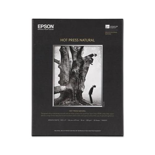 Hot Press Natural Fine Art Paper EPSS042317