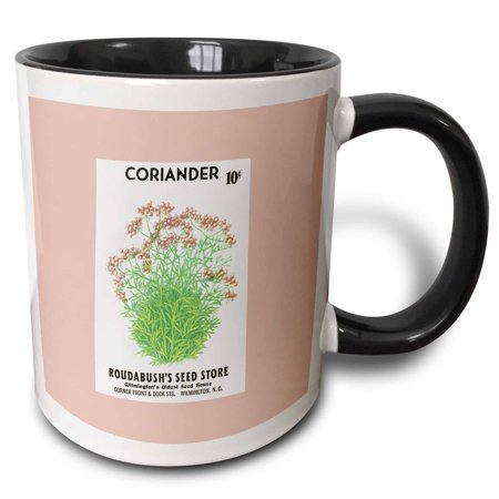 3dRose Coriander Roudabushs Seed Store Wilmington NC - Two Tone Black Mug, 15-ounce - Halloween Stores In Wilmington Nc
