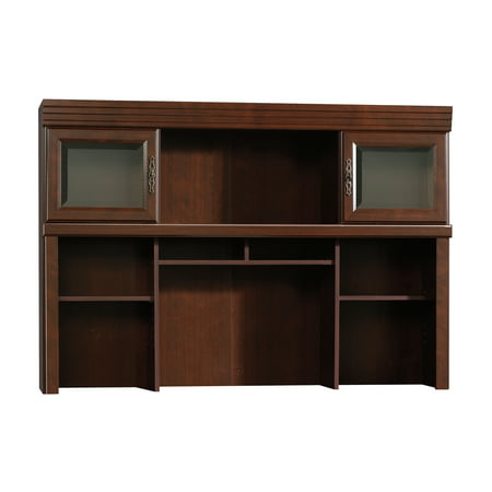 Sauder Heritage Hill Computer Hutch, Classic Cherry Finish