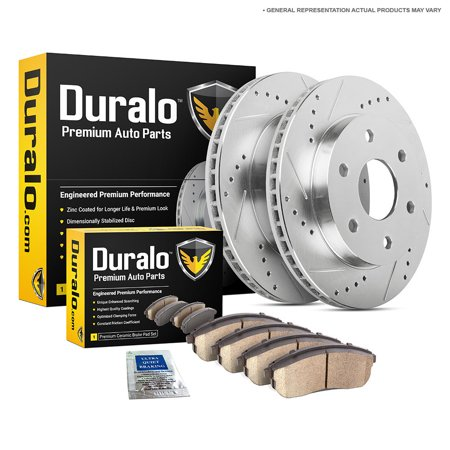 For Ford Expedition Lincoln Navigator 03-06 Front Brake Pads And Rotors Kit 04 Front Brake Rotors