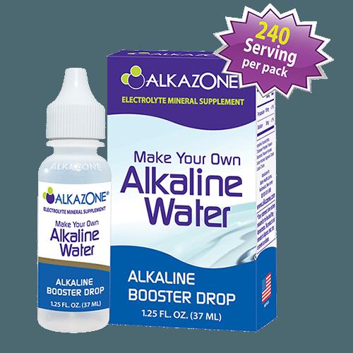 ALKAZONE Make Your Own Alkaline Water Alkaline Booster ...