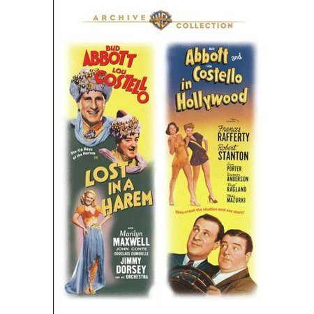 Lost in a Harem / Abbott and Costello in Hollywood (DVD) (Halloween Parties In Hollywood 2017)