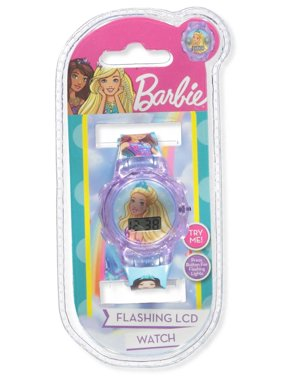 Barbie Flashing LCD Watch
