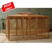 Sunjoy 10 x 12 ft. Replacement Canopy Cover for L-GZ099PST - Gazebo