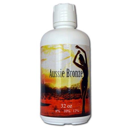 Aussie Bronze Spray Tan 12% Dark Sunless Solution - 1 Gal
