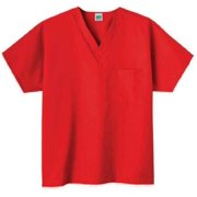 Fundamentals 14000 Adult's One Pocket Top Red Large