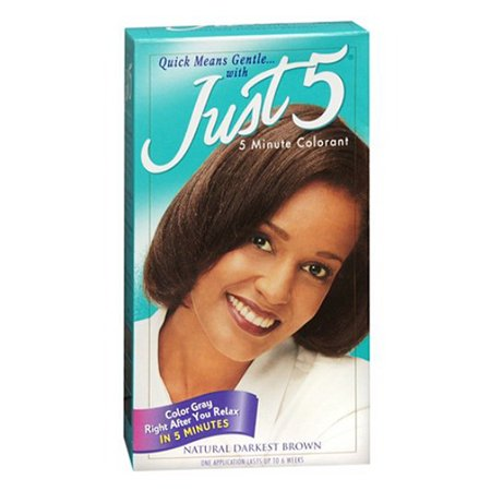 5 Minute Colorant By Just 5 Hair Color, Black 1 Ea