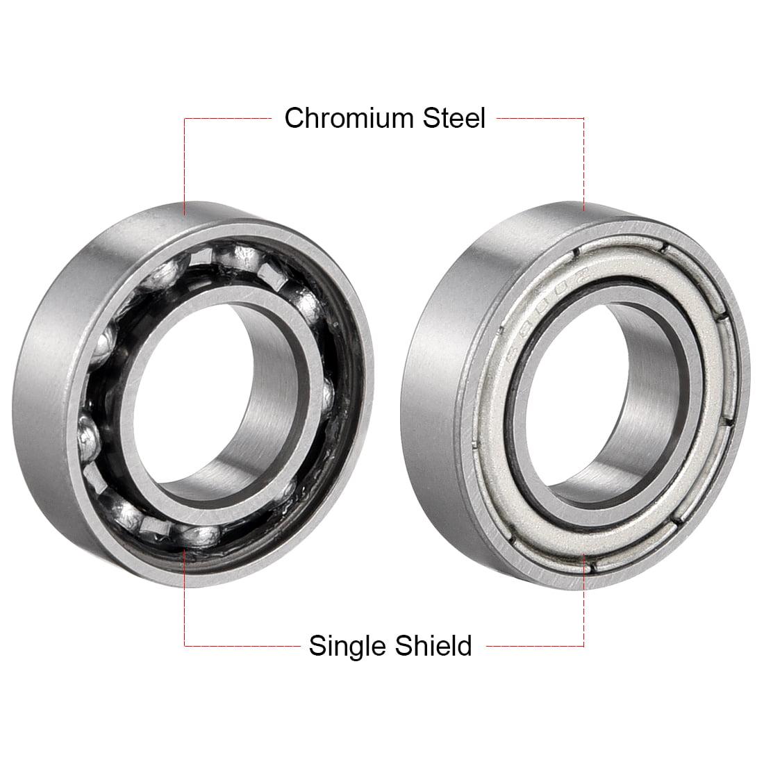 10mm*19mm*5mm 1PCS 6800ZZ Deep Groove Metal Double Shielded Ball Bearing