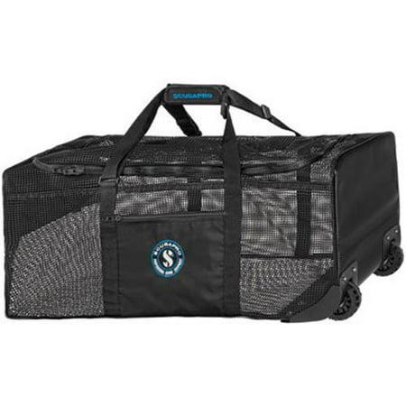 Scubapro Mesh N' Roll Heavy-Duty PVC mesh bag with wheels