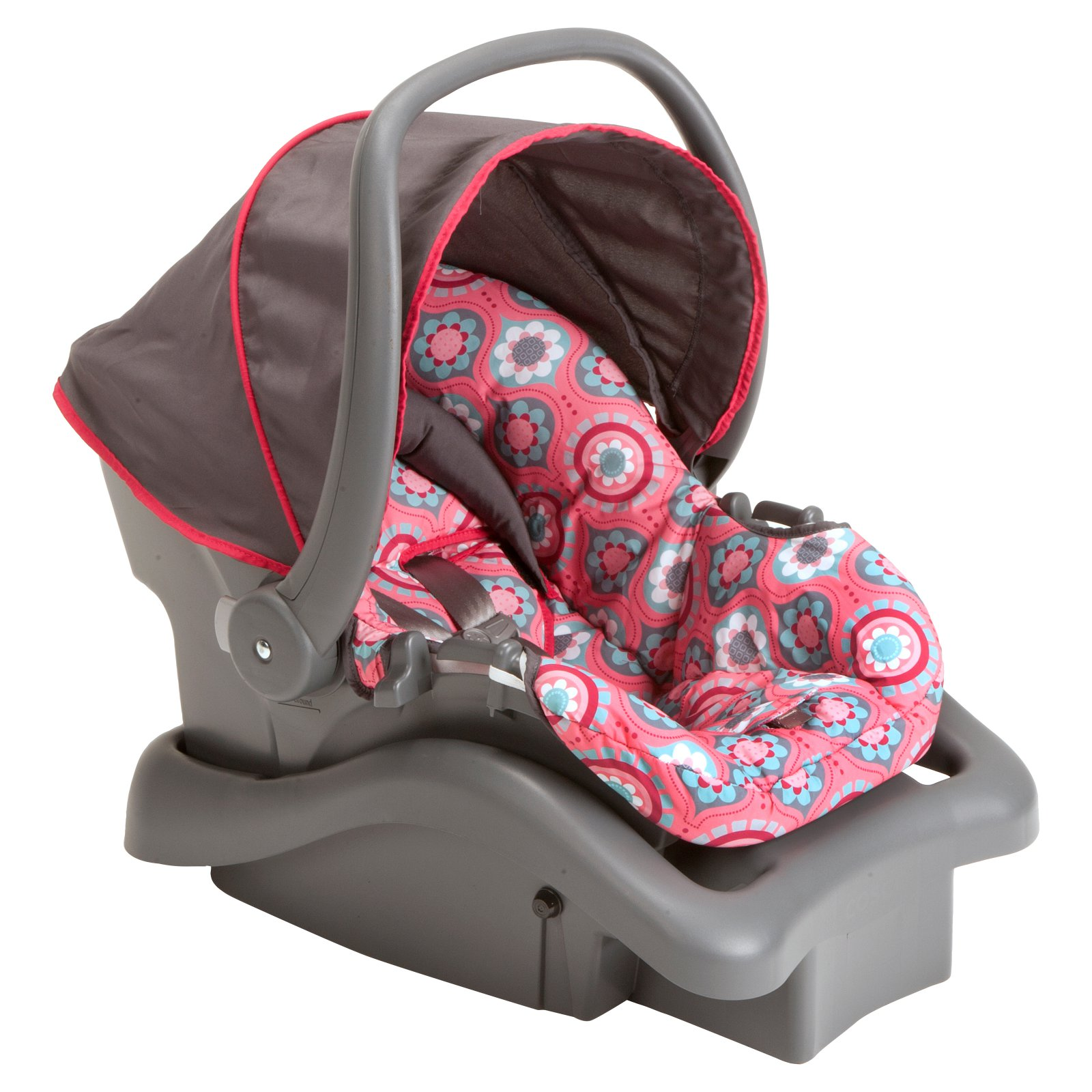 Cosco Light 'n Comfy 22 DX Infant Car Seat, Poppy Field