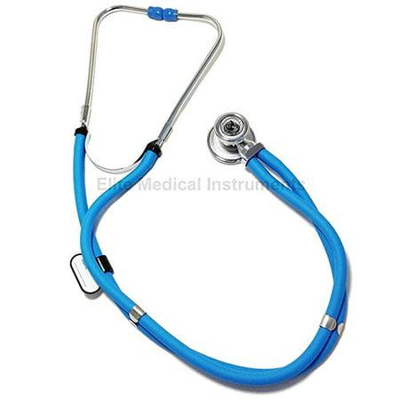 Elite Diaphragm - Elite Medical Instruments Sprague Rappaport Dual Head Stethoscope - Baby Blue