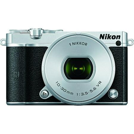 Nikon 1 J5 Digital Camera w/ NIKKOR 10-30mm f/3.5-5.6 PD Zoom Lens -