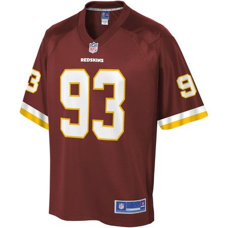 NFL Pro Line Men s Washington Redskins Jonathan Allen DS Burgundy Team Color  Player Jersey 3623dead3