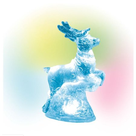 Department 56 Village Lighted Ice Castle Reindeer Accessory Figurine 6003188 New ()
