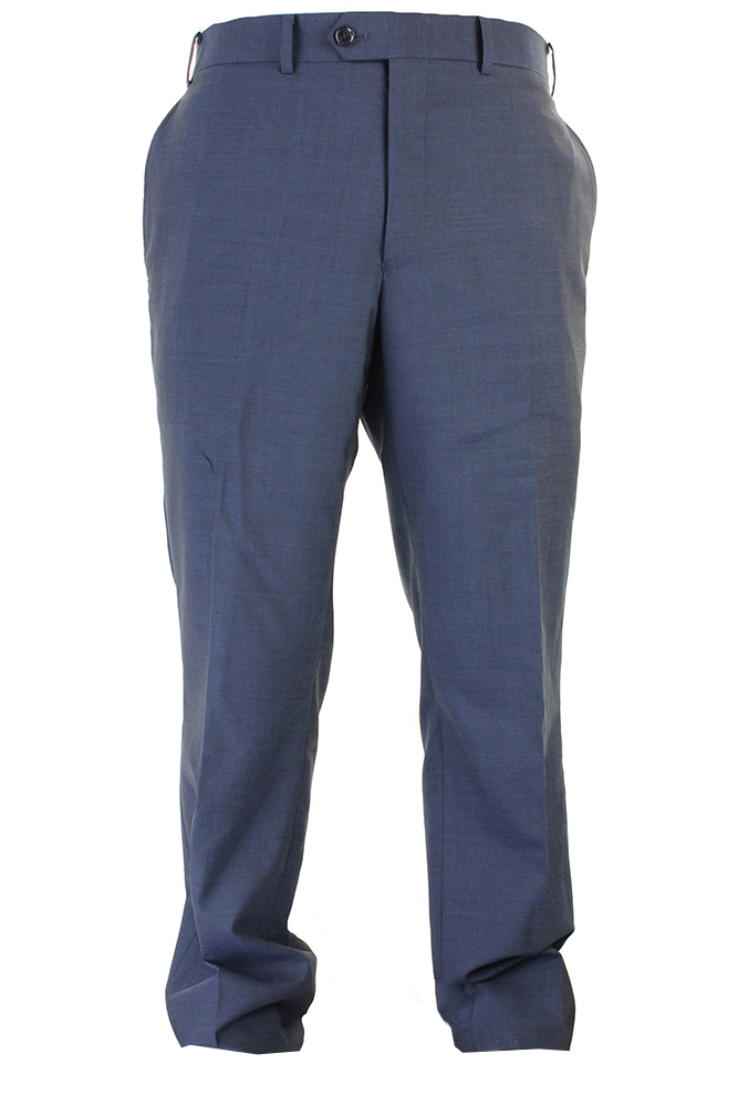 Bar Iii Midnight Blue Stepweave Slim Fit Creased Dress Pants 40
